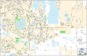 COLT service map
