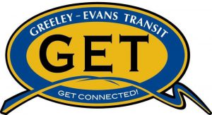Logo for Greeley-Evans Transit: Get Connected