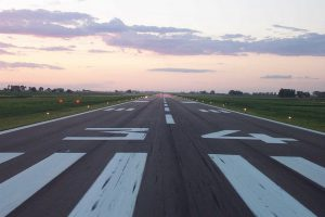 Runway at Greeley-Weld County Airport