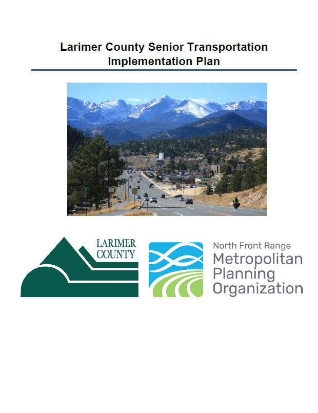 Larimer County Senior Transportation Implementation Plan Cover