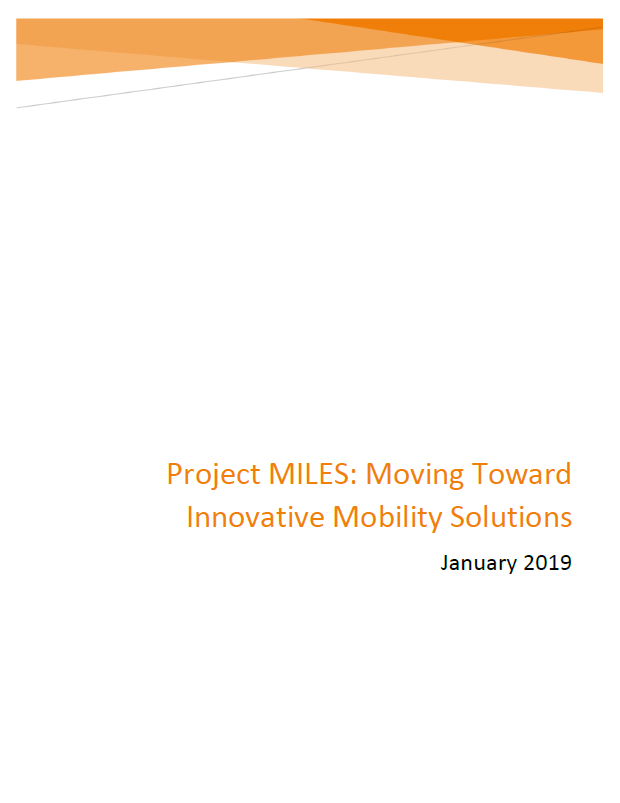 Project MILES Cover